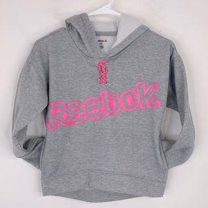 Reebok Girls Fleece Hooded Sweatshirt